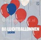Saskia - 88 luchtballonnen